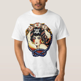 1920s Pirate Girl Tshirt