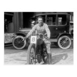 1920s Racing Motorcycle Postcards