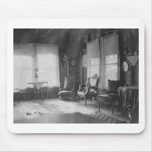 1920's Room Picture Mouse Pad