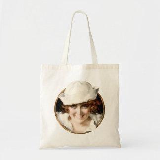 1920s Sailor Girl Budget Tote Bag