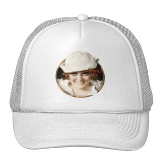 1920s Sailor Girl Cap