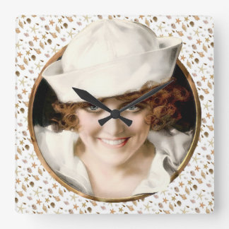 1920s Sailor Girl Clocks