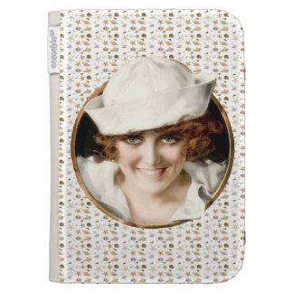 1920s Sailor Girl Kindle Keyboard Cases