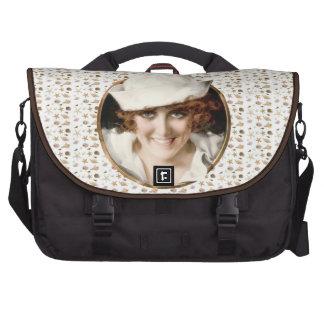 1920s Sailor Girl Laptop Commuter Bag