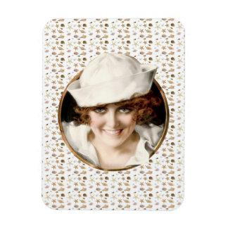 1920s Sailor Girl Magnets