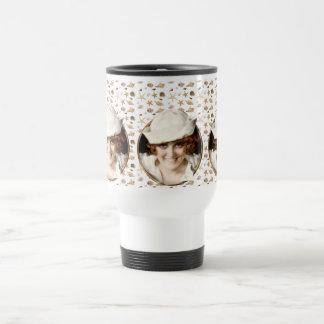 1920s Sailor Girl Stainless Steel Travel Mug