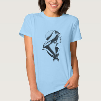 1920s Sailor Girl T Shirt