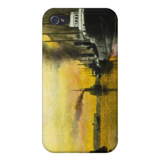 1920s Ships at Fort William, Ontario, Canada iPhone 4 Covers