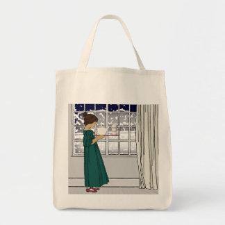 1920s Tea Girl (Grocery) Totebag