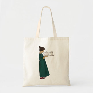 1920s Tea Girl Totebag Tote Bag