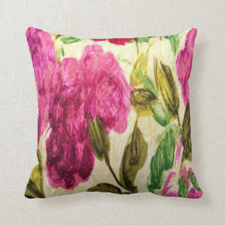 1920s Throwback Rose Damask Cushion