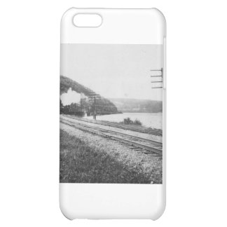 1920's Train on Track Cover For iPhone 5C