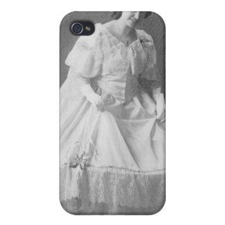 1920's Wedding Photo of Bride iPhone 4 Case
