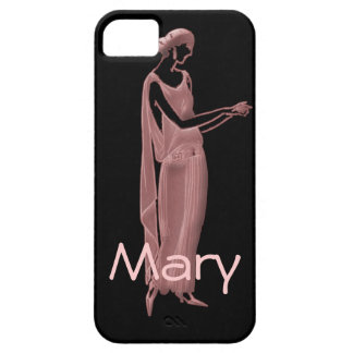 1920s Woman in Pink and Black iPhone 5 Cases