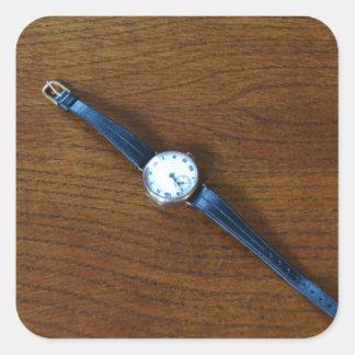 1920s Wrist Watch Square Sticker