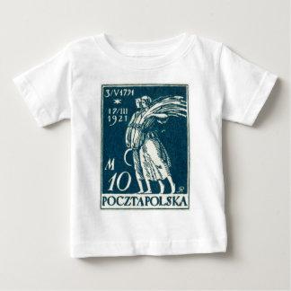 1921 10m Polish Postage Stamp Infant T-Shirt