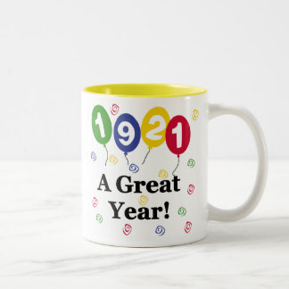 1921 A Great Year Birthday Coffee Mug