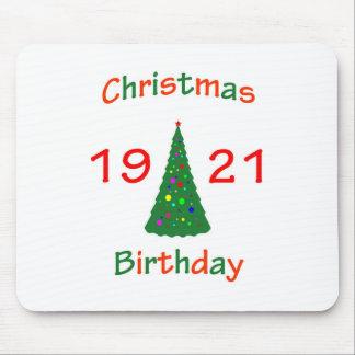1921 Christmas Birthday Mouse Pad