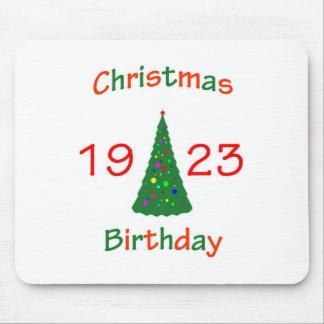 1923 Christmas Birthday Mouse Pads