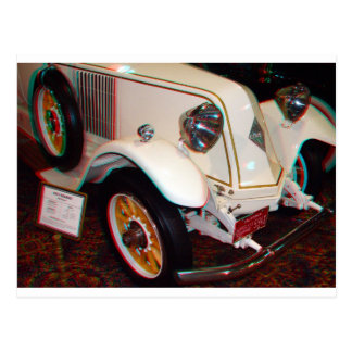 1923 Renault, Anaglyph Postcard