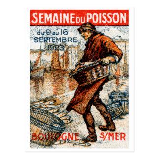 1923 Seafood Festival Postcard