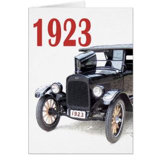 1923 TOURING CAR GREETING CARD