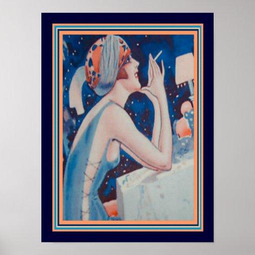 1923 Vie Parisienne Art Deco Print 12 x