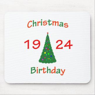 1924 Christmas Birthday Mouse Pad
