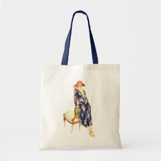 1924 Fashion Illustration Tote Bag