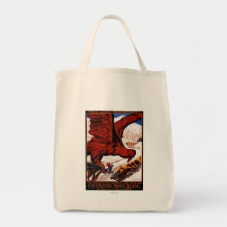 1924 Olympic Winter Games Poster Tote Bag