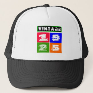 1925 Birthday Designs Trucker Hat