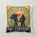 1925 Cologne De L'Elephant Pillow