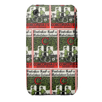 1925 German Bicycle and Motorcycle Club iPhone 3 Covers