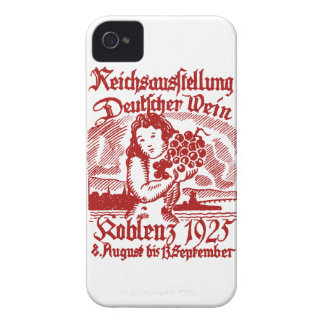 1925 German Wine Festival Case-Mate iPhone 4 Cases