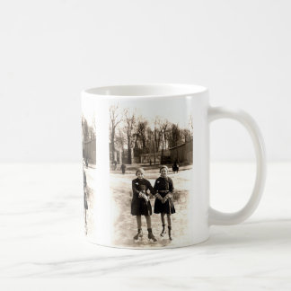 1925 Girlfriends Ice Skating Coffee Mug