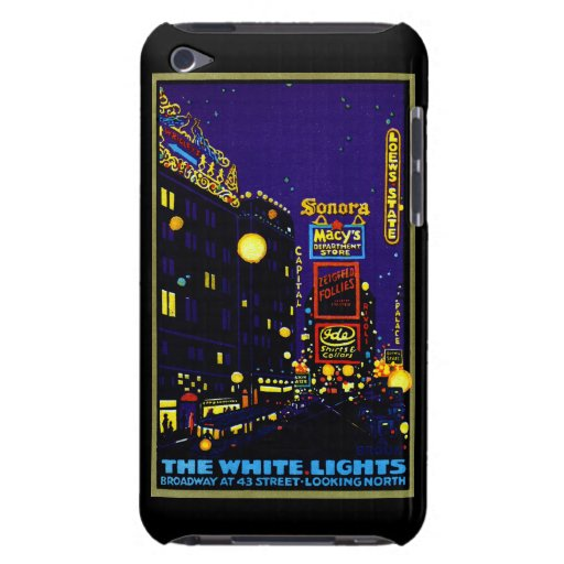 1925 New York City at Night Barely There iPod Cover