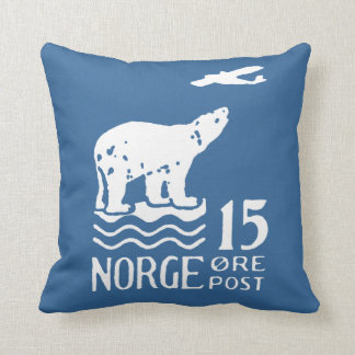 1925 Norwegian Polar Bear Cushion