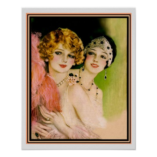 1925 Pictorial Review Art Deco Print -Earl Christy