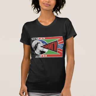 """1925 Rodchenko """"Books!"""" Tee Shirt"""