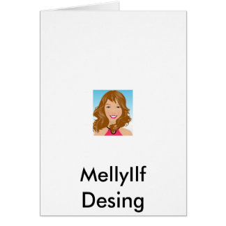 19265798, MellyIlf Desing Note Card