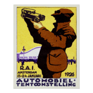 1926 Car Show Poster