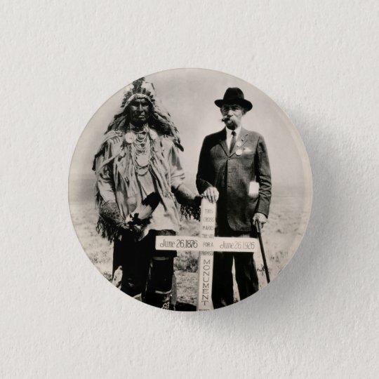 1926 Little Big Horn 3 Cm Round Badge