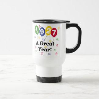 1927 A Great Year Birthday Travel Mug