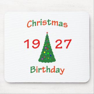1927 Christmas Birthday Mousepad