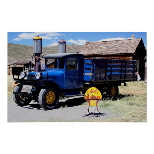1927 Dodge Graham, Bodie, California Poster