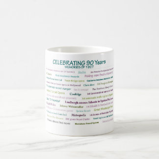 1927 Memories 90th Birthday Mug