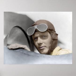 1928 CHARLES LINDBERGH POSTER