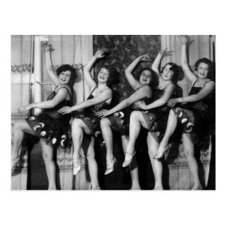 1928 Dancers Postcard