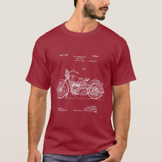 1928 Harley Cycle Patent (Dark Apparel) T-Shirt