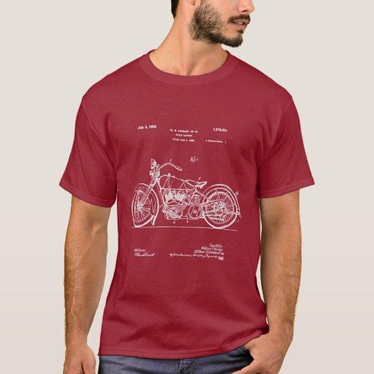 1928 Harley Cycle Patent (Dark Apparel) T-Shirt